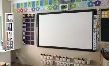 klaslokaal Huis 69 – bord