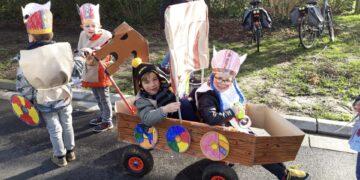 Kleuter – carnaval op school