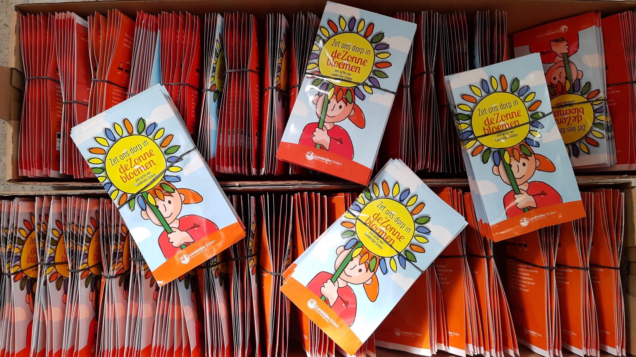 Dankjewel, Landelijke Gilde Herdersem, voor de zonnebloemzaadjes.Onze school helpt mee om van Herdersem een zonnebloemendorp te maken. Meer info vind je hier.